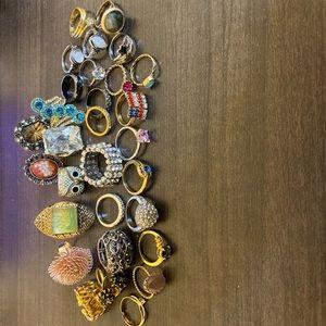 Rings rings and more rings lot